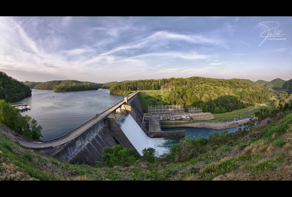 Norris Dam in East Tennessee